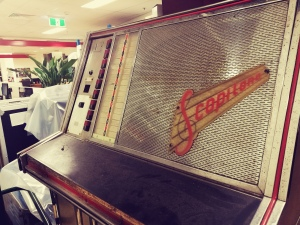 Scopitone film projector jukebox