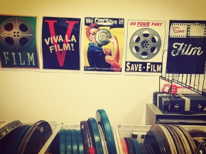 Posters promoting film preservation